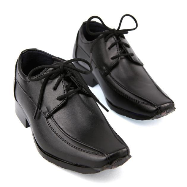 chaussure noir enfant
