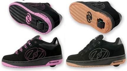 chaussures à roulettes adulte