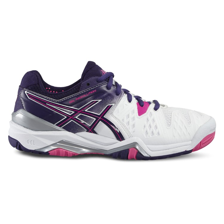 chaussures asics gel resolution 6