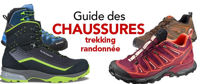 chaussures de trekking homme