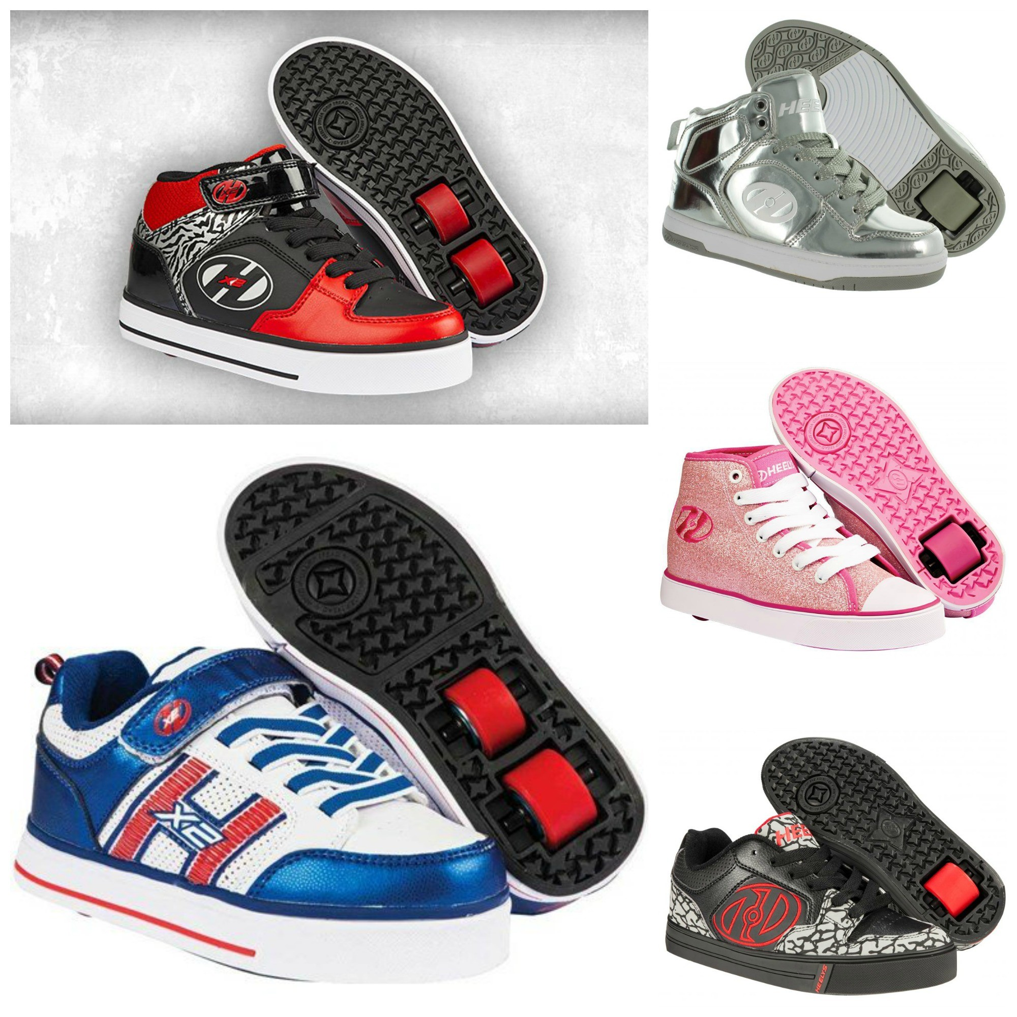 chaussures heelys 2 roues