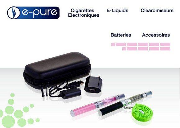cigarette electronique e pure