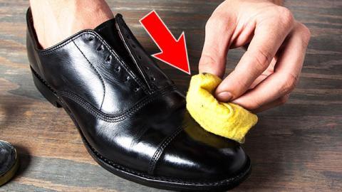 cirer des chaussures
