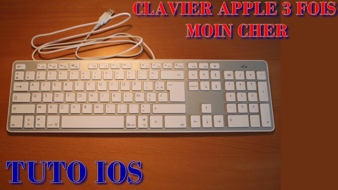clavier compatible apple