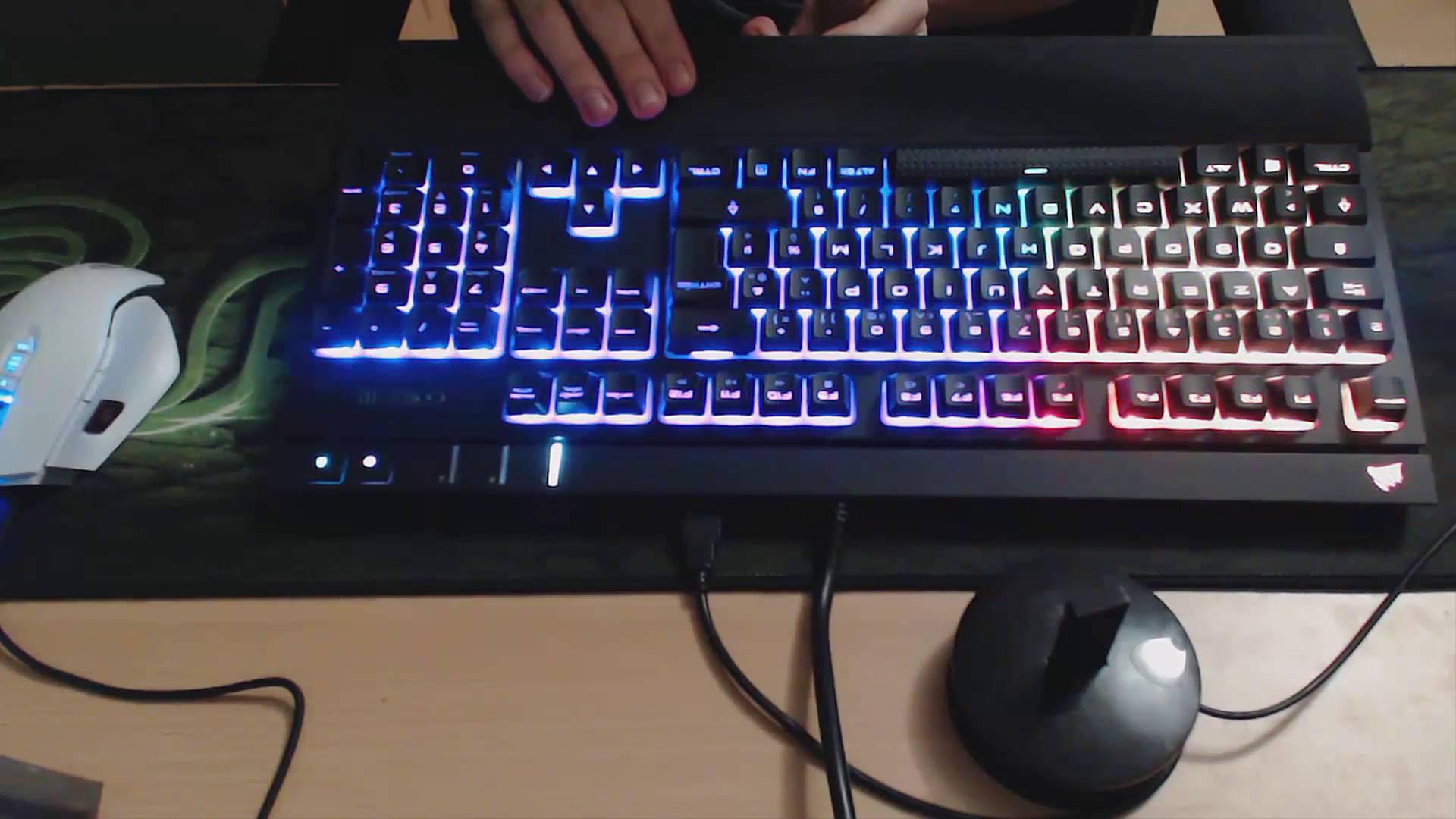clavier mecanique silencieux