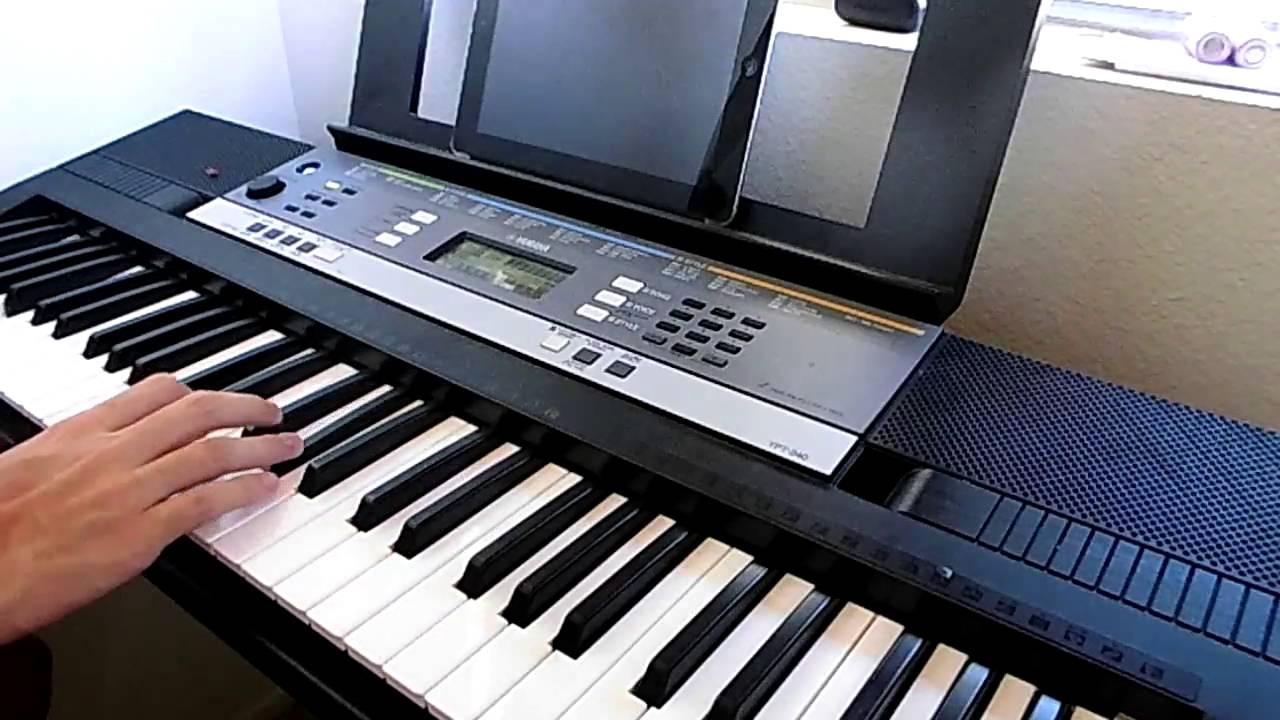 clavier numérique yamaha ypt 240