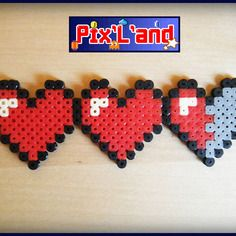 coeur pixel zelda