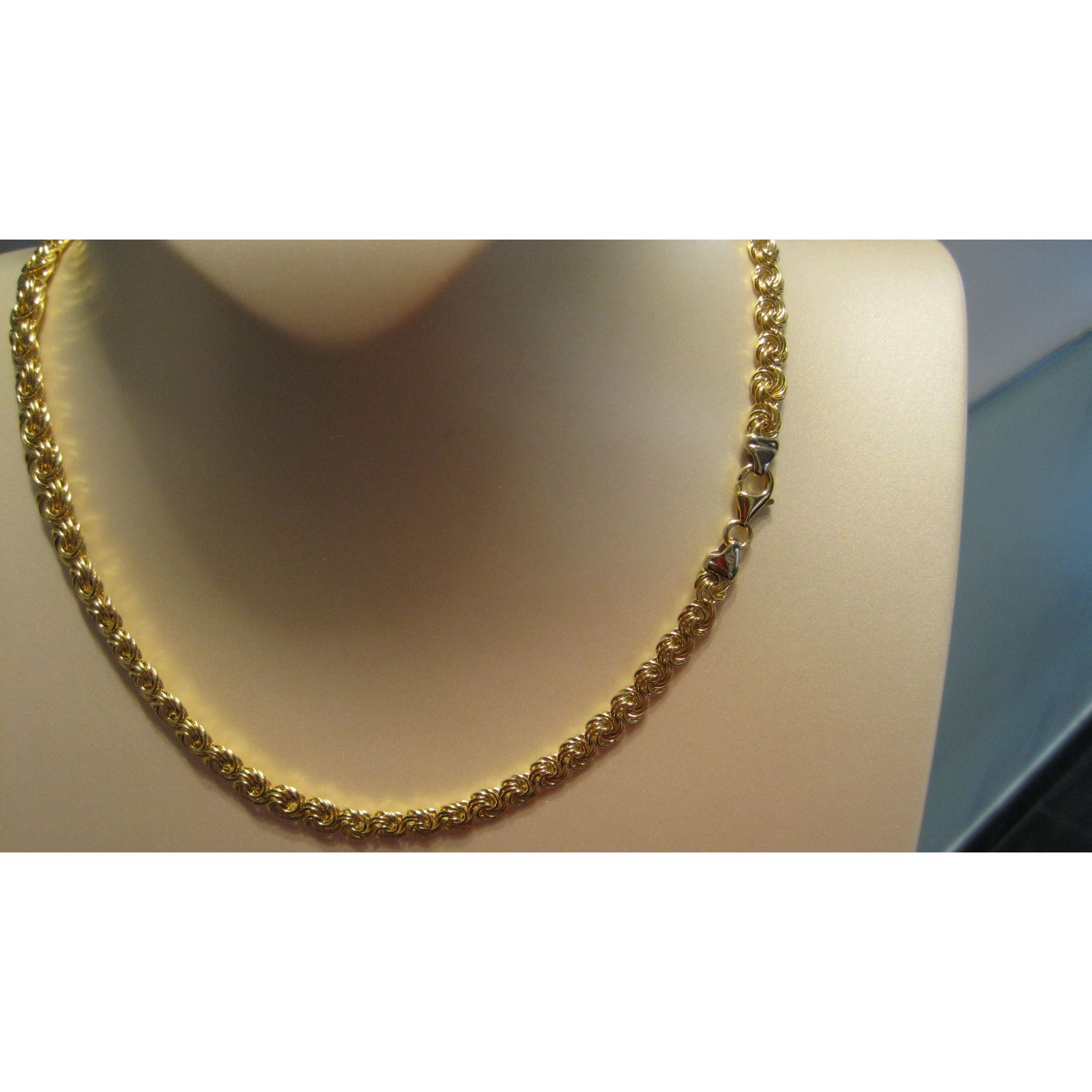 collier or femme 18 carats