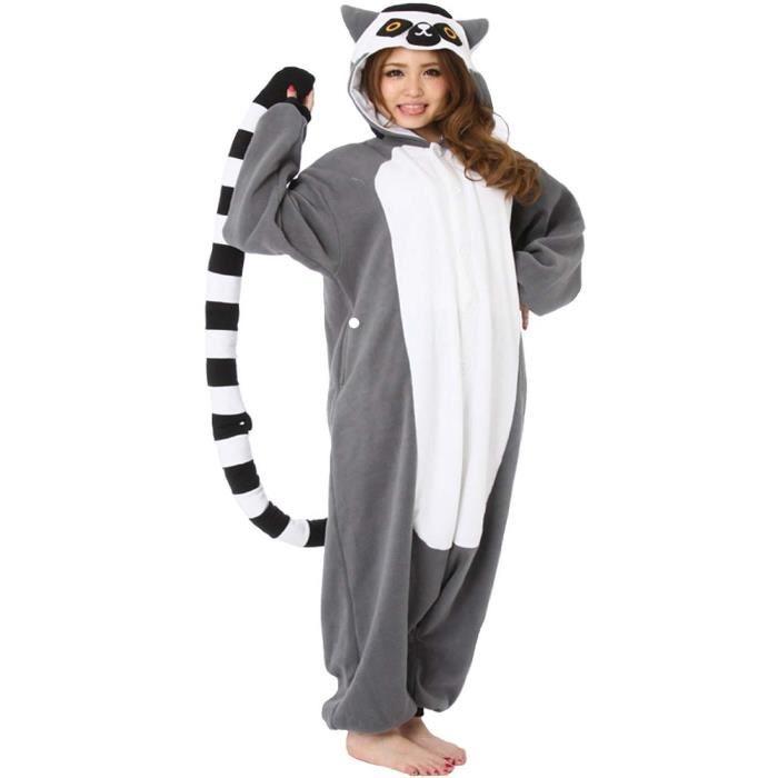 combinaison pyjama femme animal