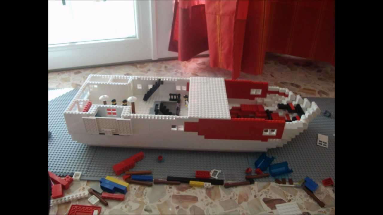 comment faire un bateau en lego