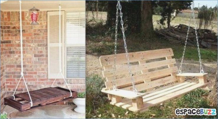 comment faire une balancelle en bois