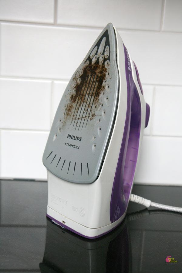 comment nettoyer un fer a repasser vapeur