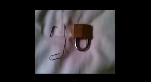 comment ouvrir un cadenas sans clé facilement