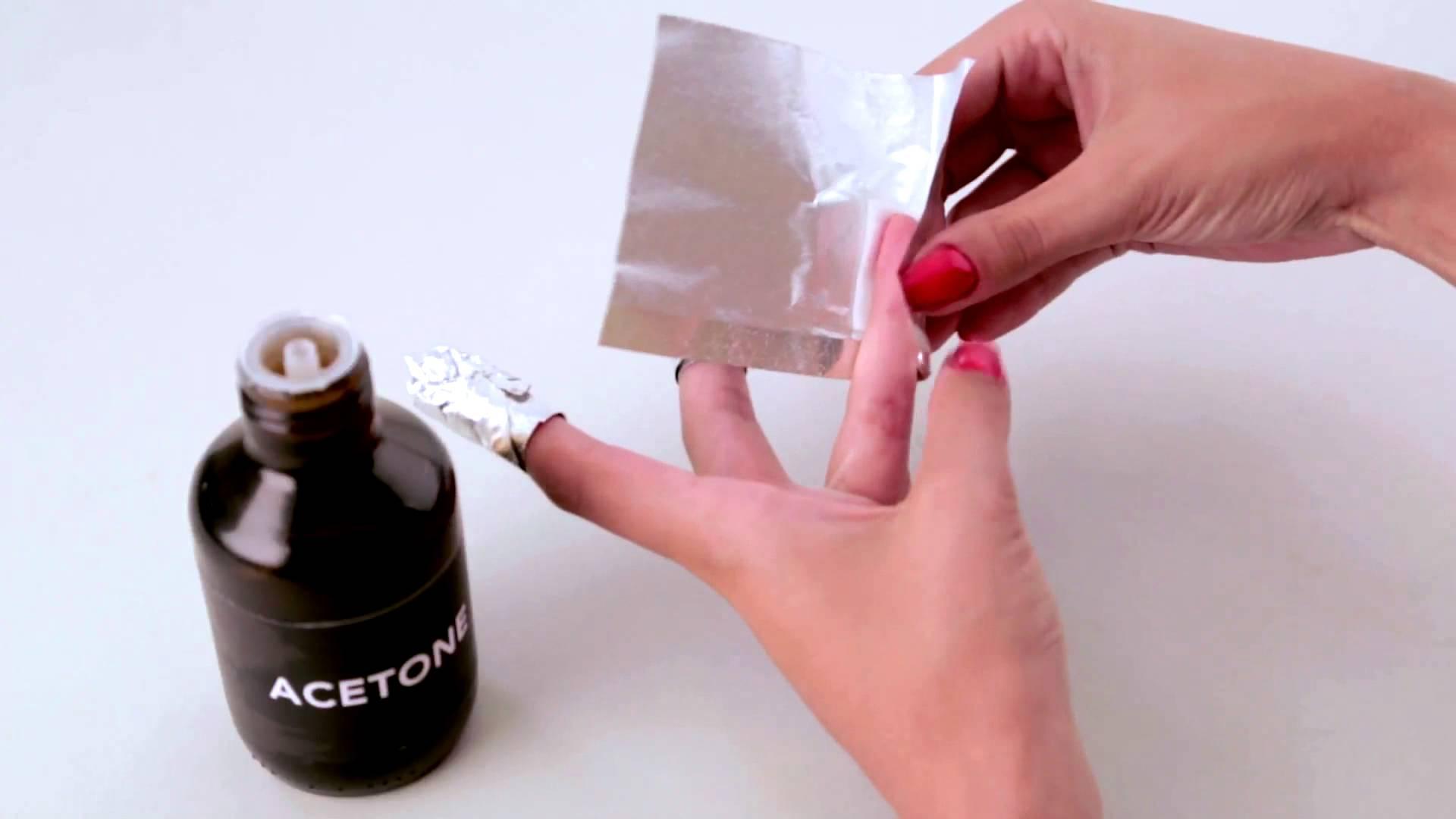 comment retirer le vernis gel