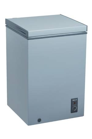 congelateur gris