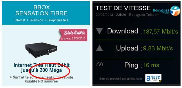 débit bbox
