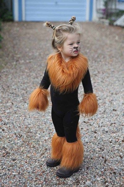 deguisement lion fait maison
