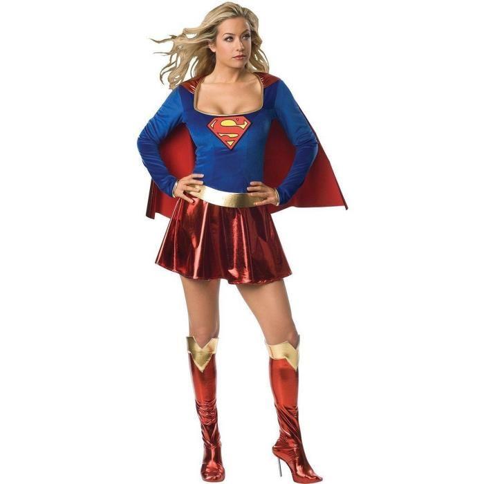 déguisement super hero femme