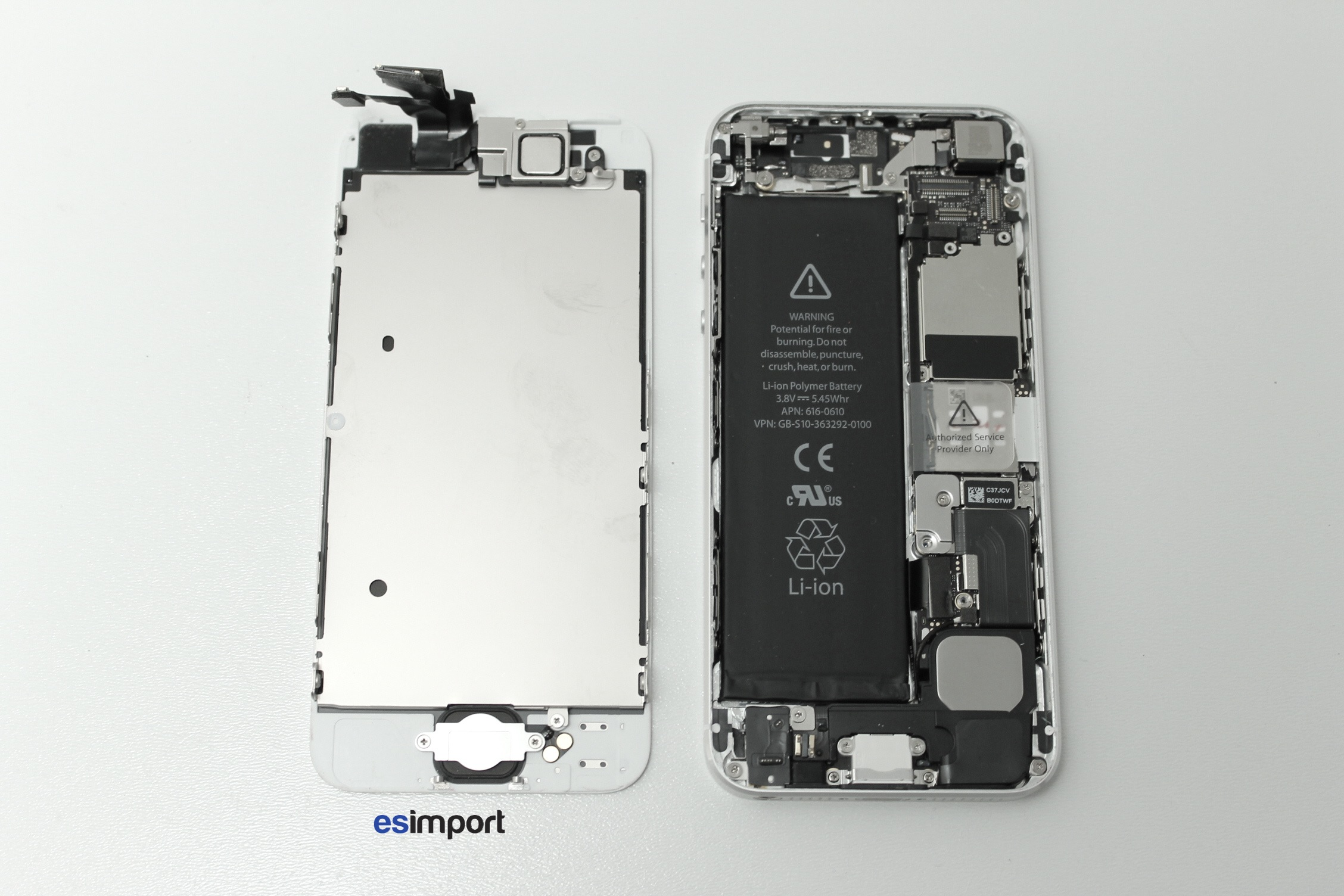 démonter un iphone 5s
