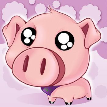 dessin cochon mignon
