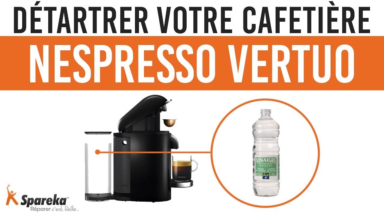 detartrage nespresso vinaigre
