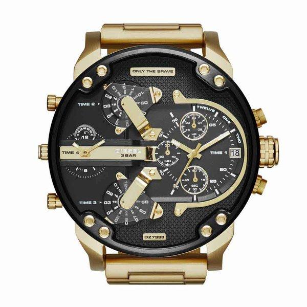 diesel montre or