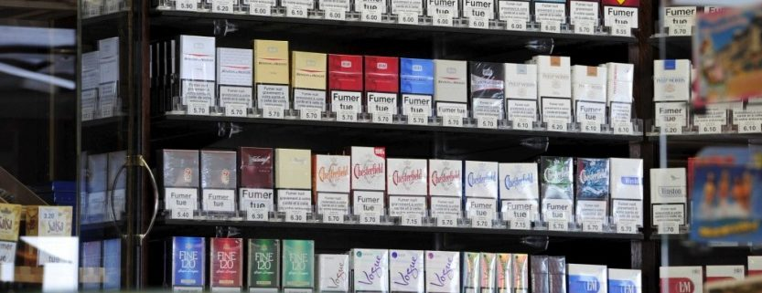 differente marque de cigarette