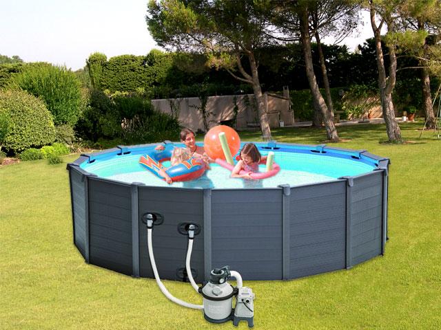 dimension piscine hors sol intex