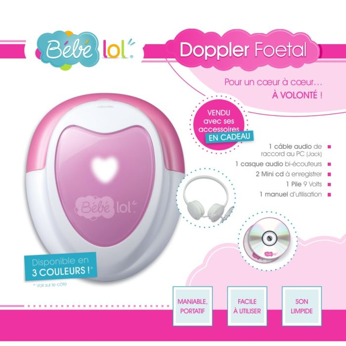 doppler foetal bebe 9