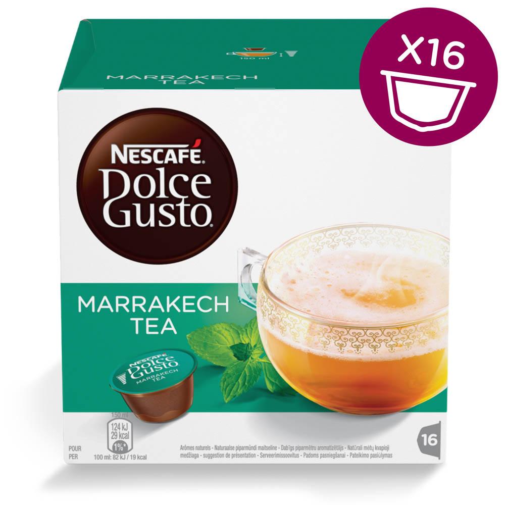 dosette thé dolce gusto