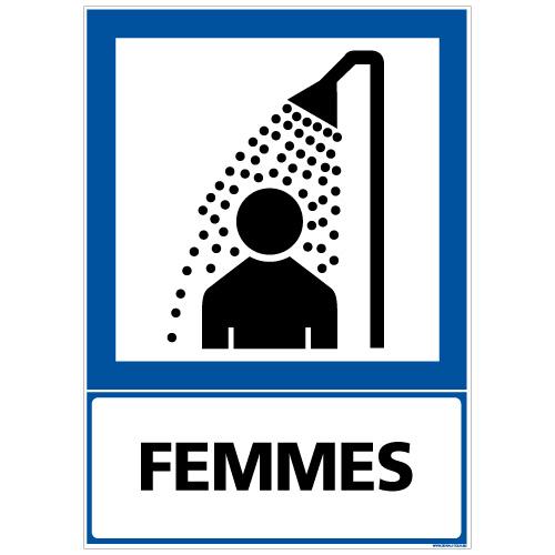 douche des femmes