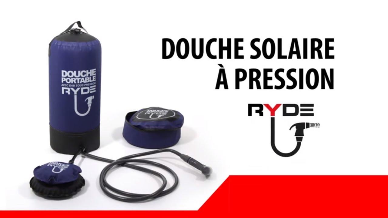 douche portable pression
