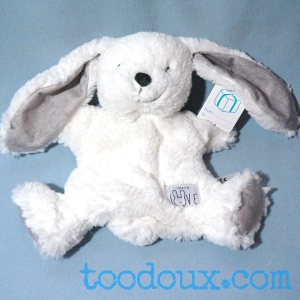 doudou lapin marionnette