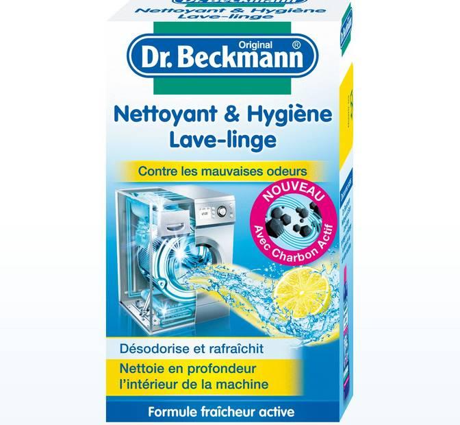 dr beckmann nettoyant lave linge