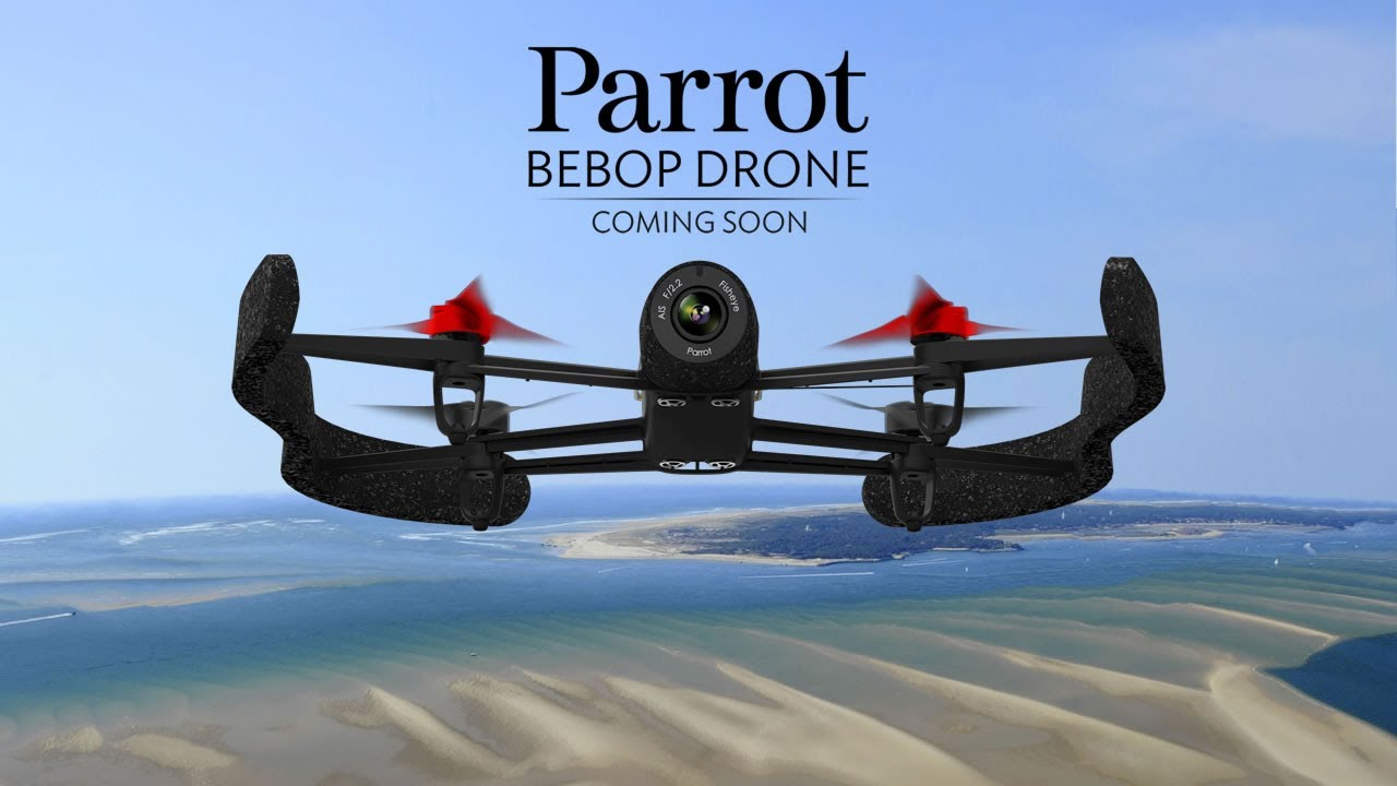 drone parrot video