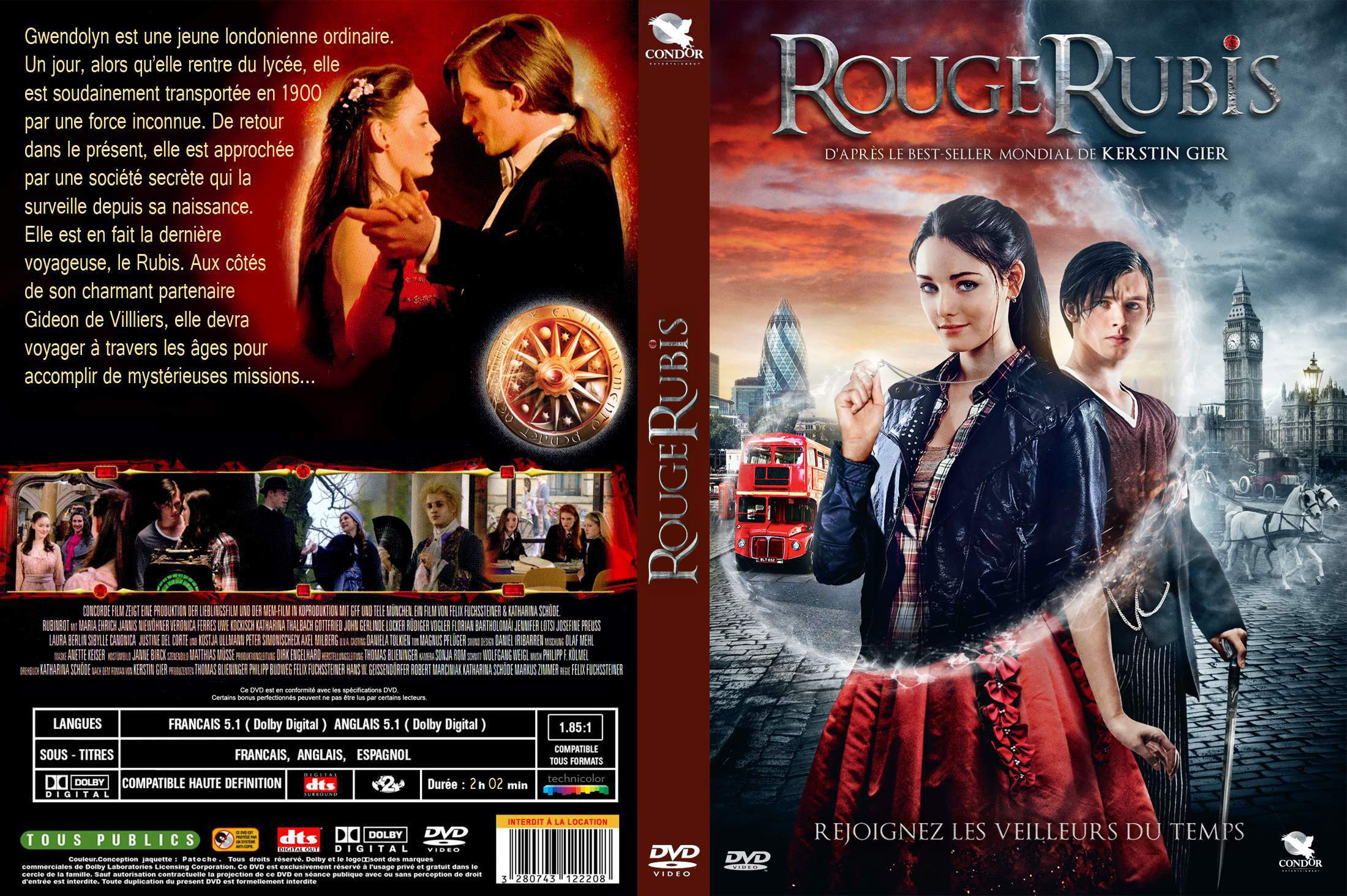 dvd rouge rubis