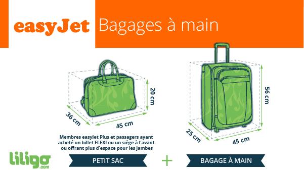 easyjet bagage main
