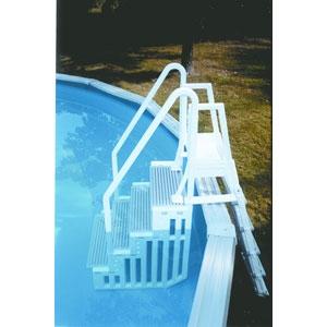 echelle piscine hors sol solide
