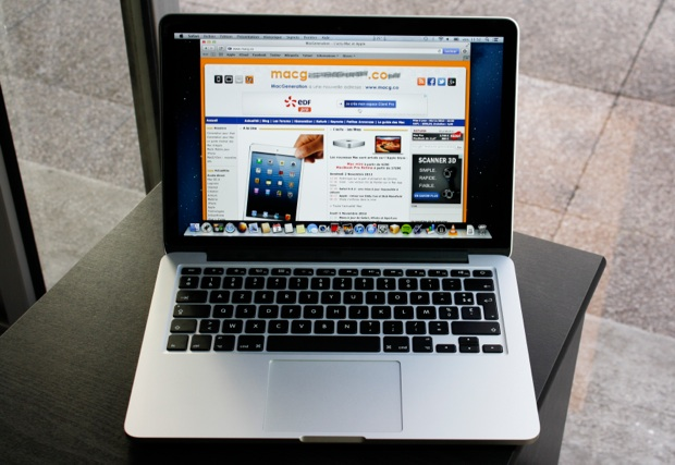 ecran macbook pro retina 13