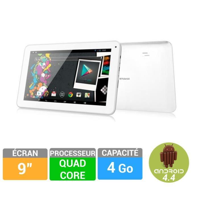 ecran tablette polaroid 9 pouces